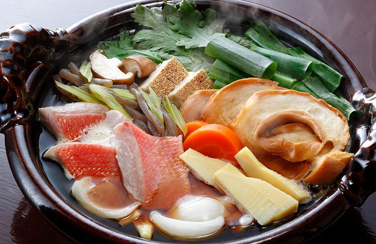 京のひめ苞 金目鯛のすき焼き
