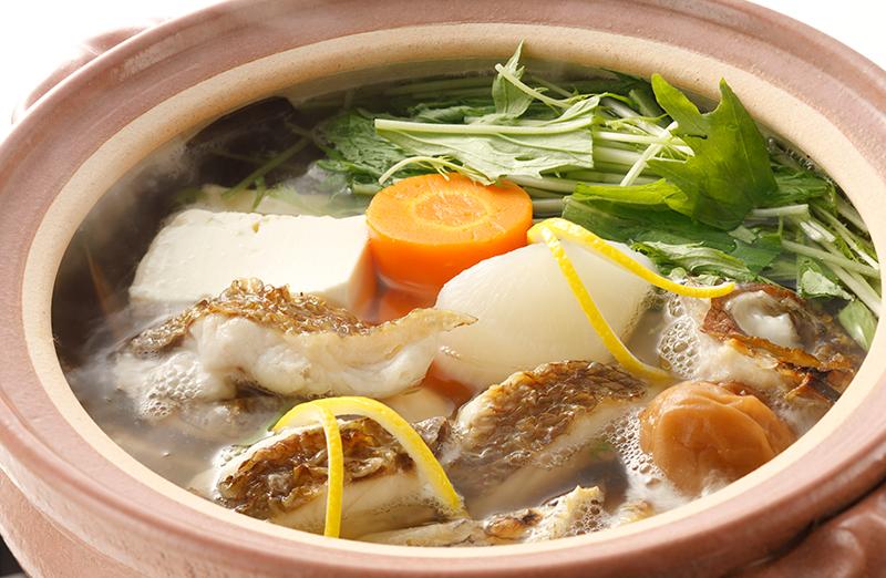 大福 焼き鯛鍋