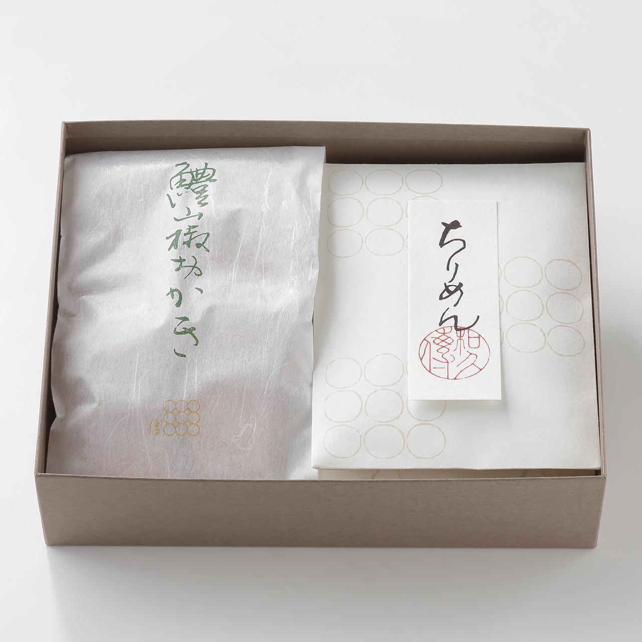 鱧山椒おかき・和煮3種詰め合わせ SF