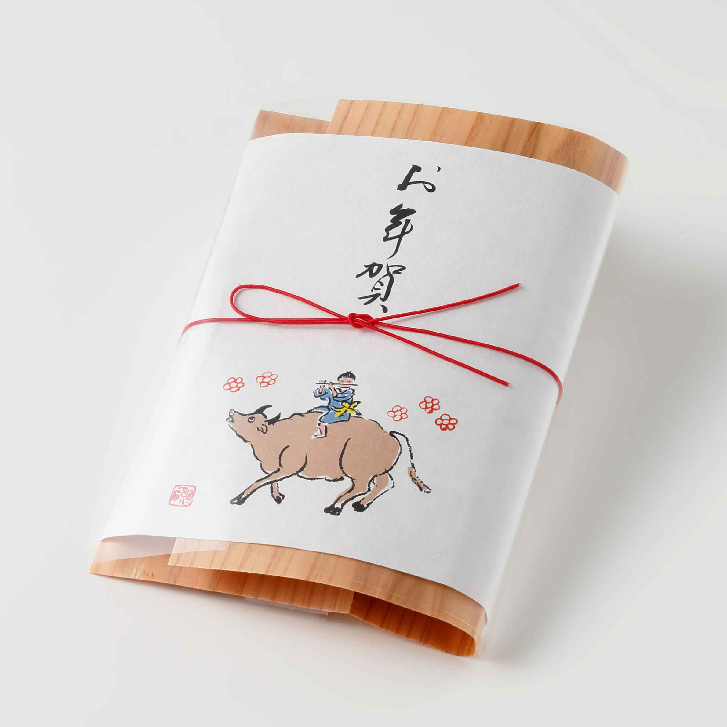 薫 果椒 黒豆(小)<お年賀特別包装>