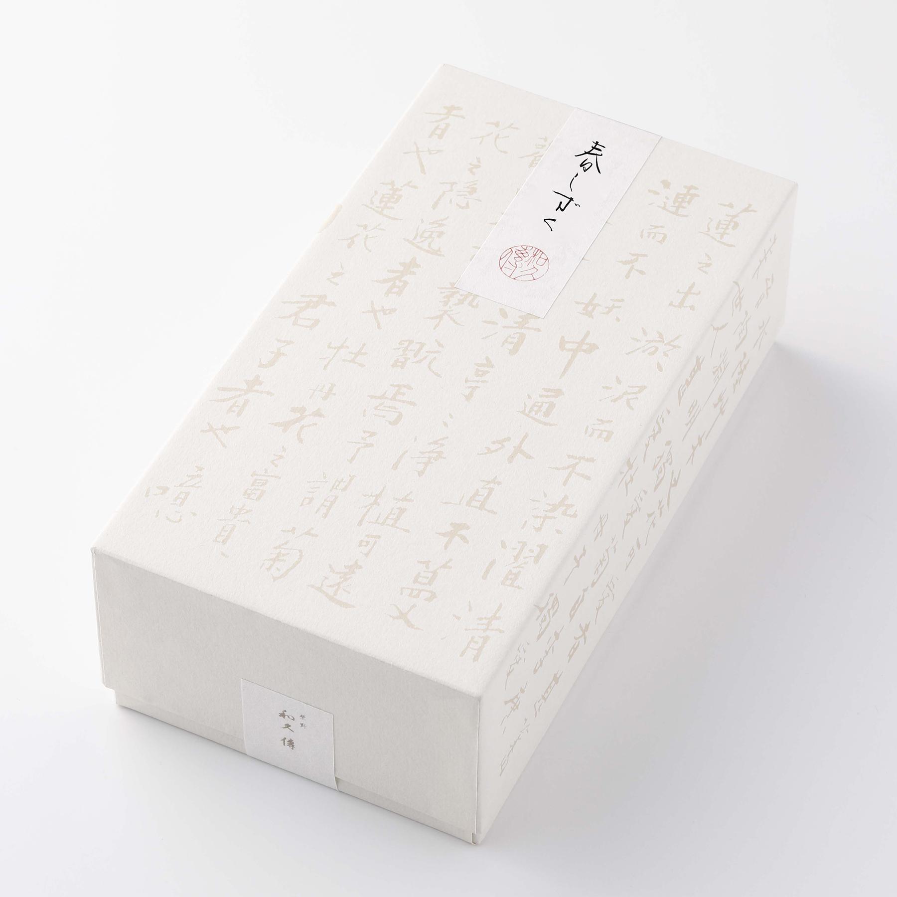 ささのか菓子 春しずく 紙箱8本入