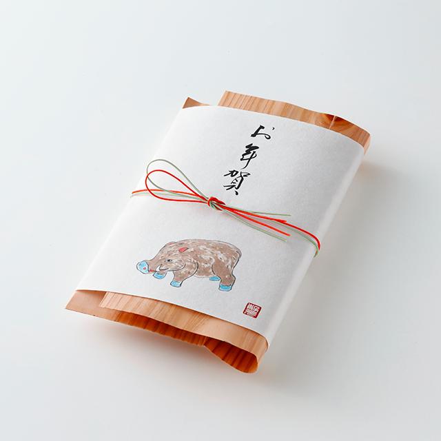 薫 果椒 黒豆 -お年賀特別包装- 小