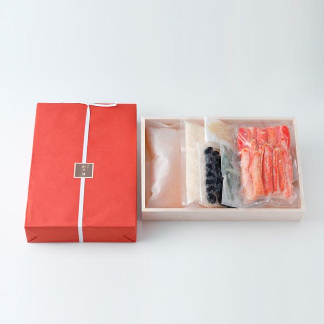 蟹と黒豆の炊き込みご飯