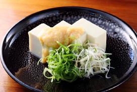 冷奴 米味噌糀 薬味和え