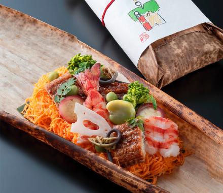 ひなまつり蒸し寿司