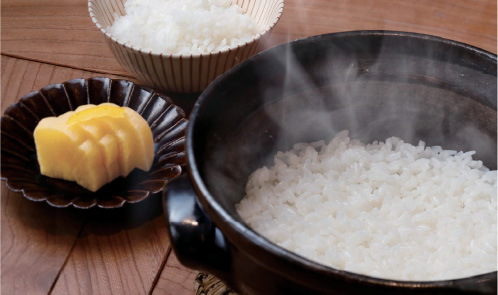 和久傳米・大根の柚酢漬け