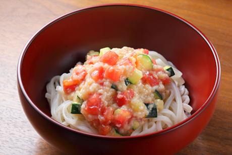米味噌糀和えうどん