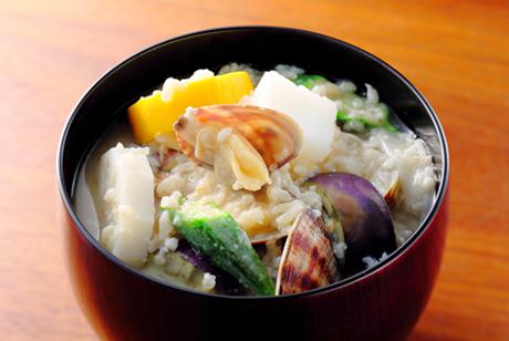 米味噌糀の冷味噌汁
