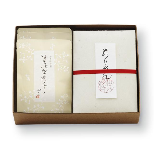 すっぽんの煮こごり・和煮4種ほうじ茶詰め合わせ WA